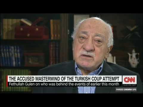 HOCAEFENDI- Fareed Zakaria Röportaji CNN Int 31 Temmuz 2016