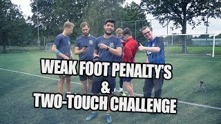 WEAK FOOT PENALTY\'S + TWO TOUCH CHALLENGE! I VOETBALCUP #4