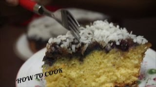 UPSIDE DOWN BLUEBERRY PUMPKIN CAKE PIE RECIPE JAMAICAN STYLE 2016