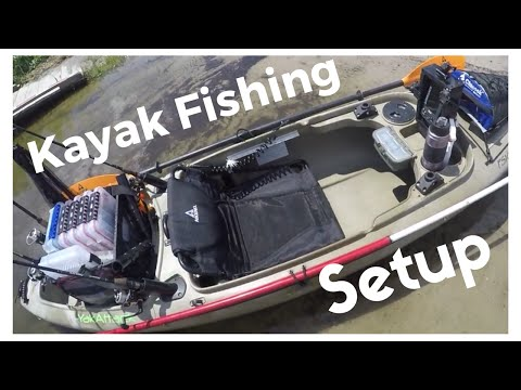 Fishing kayak setup (Ascend fs10) like and subscribe for more !!
