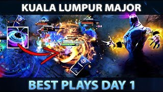 KUALA LUMPUR MAJOR - Best Plays of Day 1 [Group Stage] - Dota 2