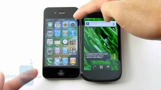 Google Nexus S vs Apple iPhone 4