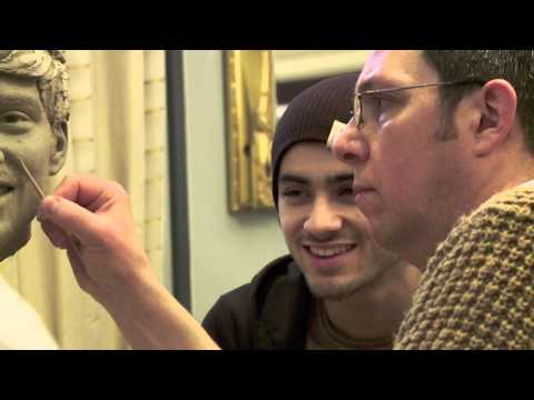Sculpting Zayn Malik from One Direction at Madame Tussauds London