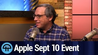 Apple September 10th Event Preview