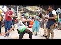 medley hit lagu lagu hindi dari nazri ft redeem buskers,bikin penonton gembira sakan,suara power