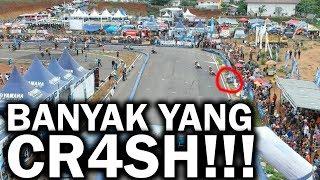 SIRKUIT SEMARANG BANYAK MEMAKAN K0RB4N CUY!!!!