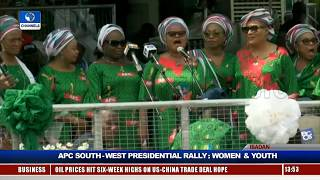 Women, Youths Take APC Presidential Rally To Ibadan Pt.8 |Live Event|