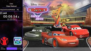 Cars: Mater National (Required Events Modded) w/ Jak8 - P4P Spring 2019