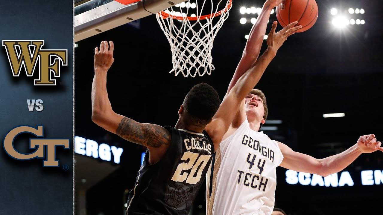 Wake Forest vs. Georgia Tech Basketball Highlights (2015-16)