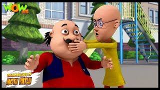 Motu Patlu New Episode | Cartoons | Kids TV Shows | Laughter Club Ka Asar | Wow Kidz