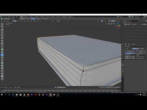 modeling practice   modeling a book in blender 2 8