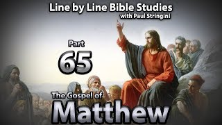 The Gospel of Matthew - Bible Study 65