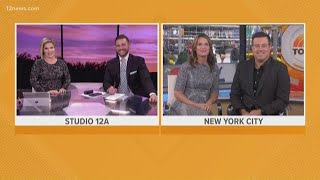 Savannah Guthrie joins Today in AZ with Carson Daly