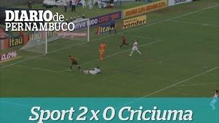 Sport 2 x 0 Criciuma