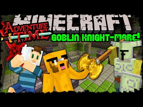 Minecraft: Adventure Time Goblin Knight mare Trapped in Twilight Forest Episode 14