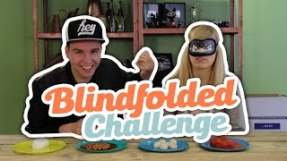 BLINDFOLDED CHALLENGE!
