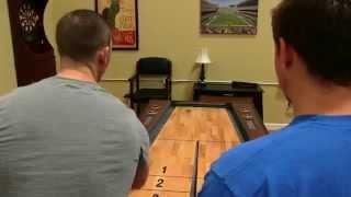 Ricochet Bounce-Back Shuffleboard Table