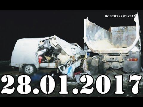 Подборка АВАРИИ и ДТП январь 28.01.2017. Accidents Car Crash. #427