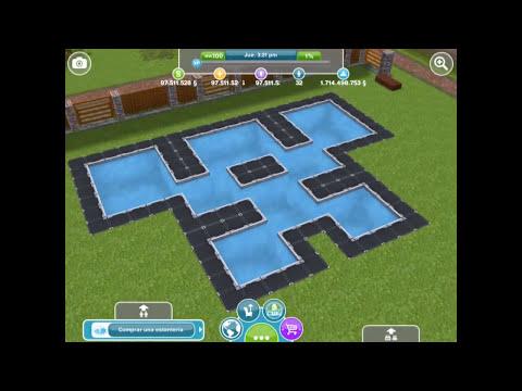Sims Gratuito    Arquitectura: Piscinas extravagantes o inusuales