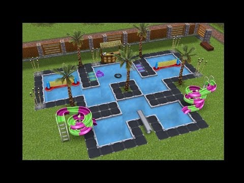 Sims Gratuito || Arquitectura: Piscinas extravagantes o inusuales