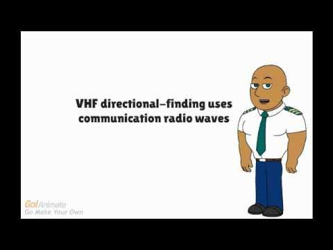 VHF directional finding