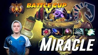 Miracle Timbersaw | BATTLE CUP | Dota 2 Pro Gameplay