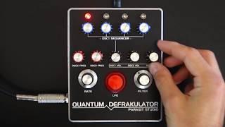 Quantum Defrakulator Drone Synth