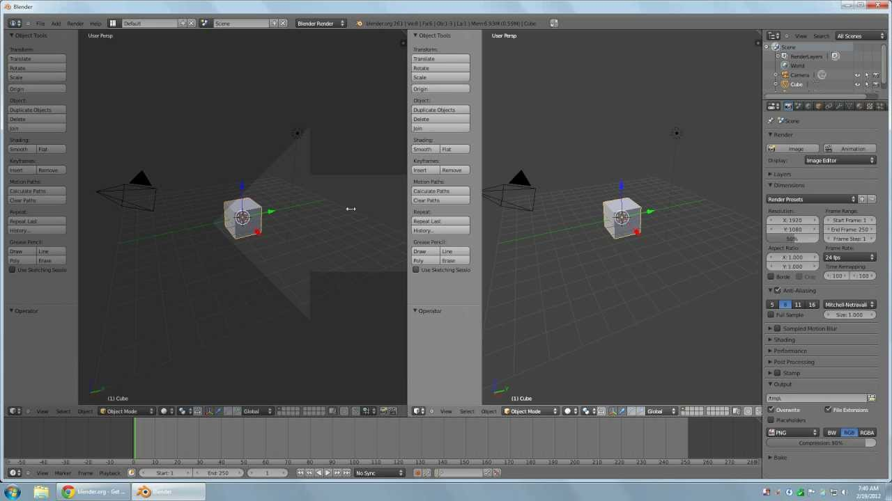 how to make a level in blender