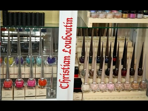 Christian Louboutin Full Nail Polish Collection Review Video! All 31 Shades + More ✿◕ ‿ ◕✿ video