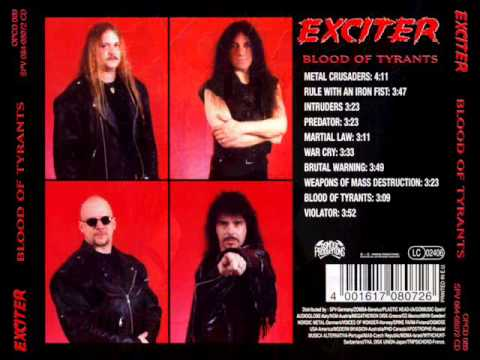 Exciter - Brutal Warning