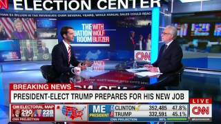 November 9, 2016: Sen. Cotton joins the Situation Room With Wolf Blitzer on CNN