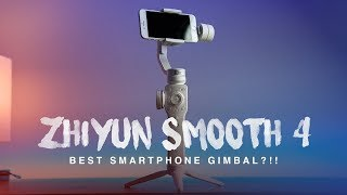 Zhiyun Smooth 4 Review | BEST Smartphone Gimbal for Mobile Filmmaking!