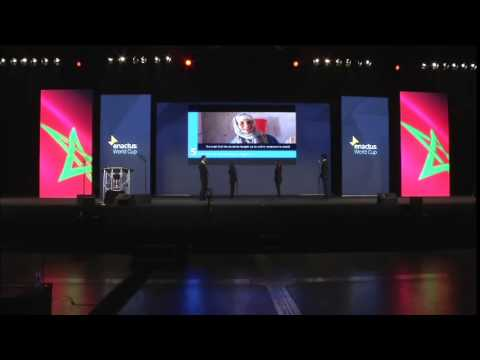 Enactus World Cup 2014 - Final Round Competition - Second Place - Morocco
