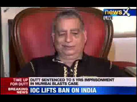 News X : Sanjay Dutt to be in jail for three & half years