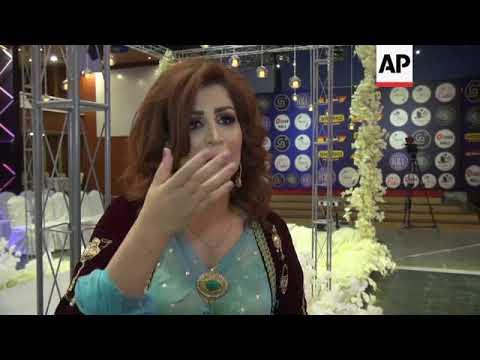 Kurdish female fashions on show in Sulaymaniyah
