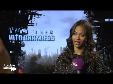 Zoe Saldana (Uhura) full Star Trek Into Darkness Interview