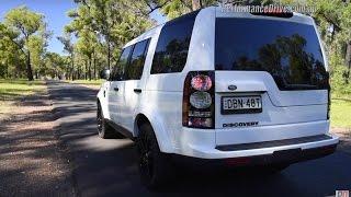 2016 Land Rover Discovery SDV6 0-100km/h & engine sound