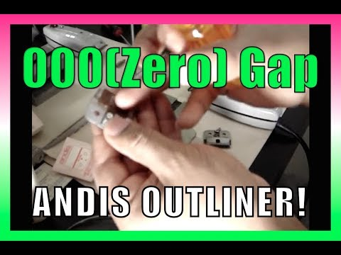 Crisp Line-up: How to adjust Andis Outliner Blade set