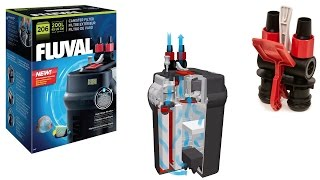 How to set up a fluval 206 canister filter