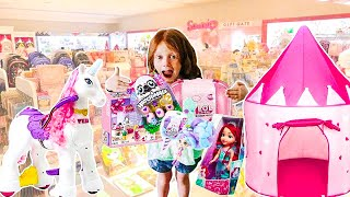 BUYING ANYTHING ElleCee WANTS Challenge!