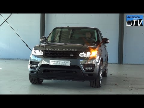 2014 Range Rover SPORT Dynamic SDV6 (292hp) - Tour & Sound (1080p FULL HD)