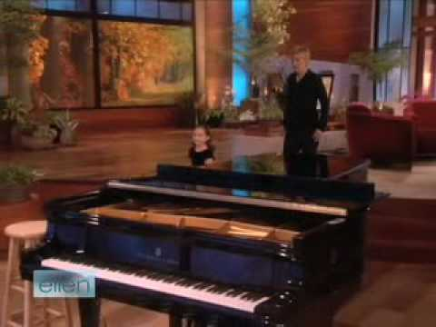 Emily Bear on Ellen 11.17.08 Video
