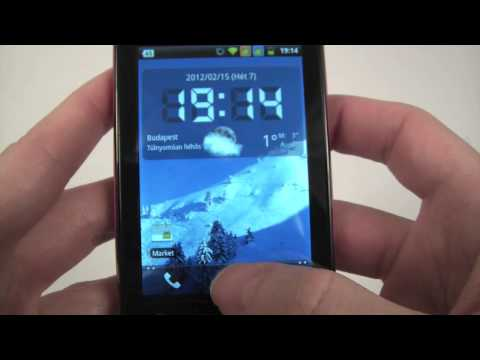 Alcatel OT-918D hands-on. unboxing and review