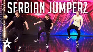 Serbian Jumperz plešu JUMPSTYLE│Supertalent 2019│Audicije
