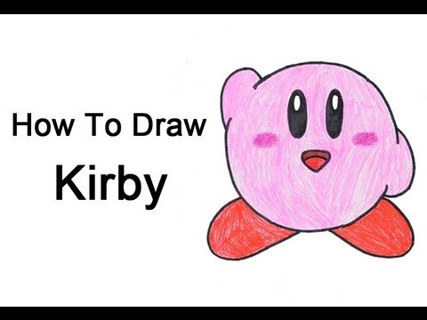 Sword Kirby Drawing How to Draw Kirby