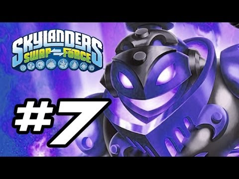 Skylanders Swap Force Gameplay Walkthrough - Part 7 - FISHING FOR UPGRADES! (Skylanders Gameplay HD)