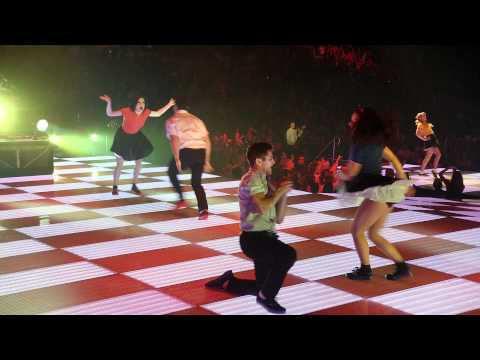 Glee 3D Movie: Santana Lopez dances and sings Valerie - a tribute to the late, g