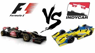 Forza 6: Formula 1 vs Formula Indy - Diferenças Interessantes