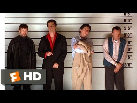 The Usual Suspects (1/10) Movie CLIP - The Lineup (1995) HD