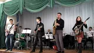 """Caliente"" (Riccardo Scivales)   by   ""Alliance"" Band (Tashkent) HD video."